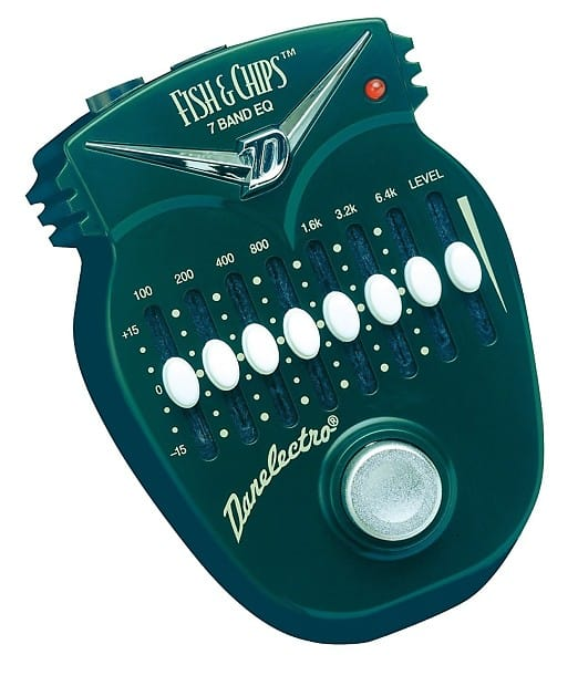 Picture of a Danelectro Fish and Chips EQ Pedal