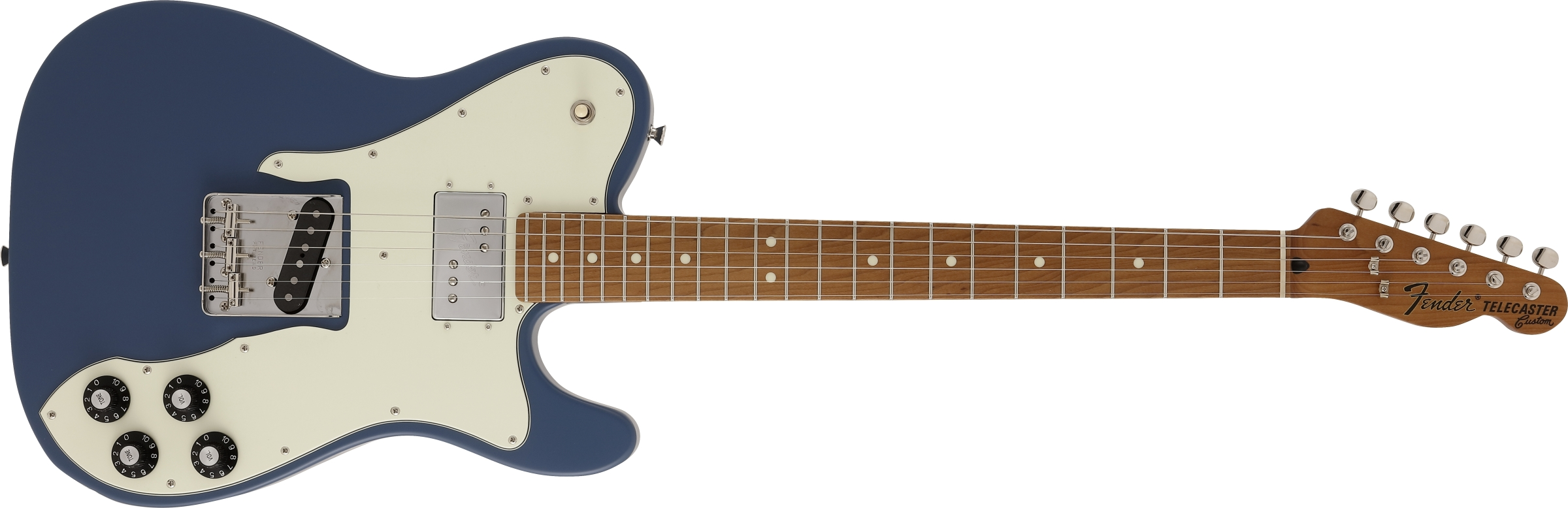 A Japan-only Fender Telecaster with a roasted maple neck